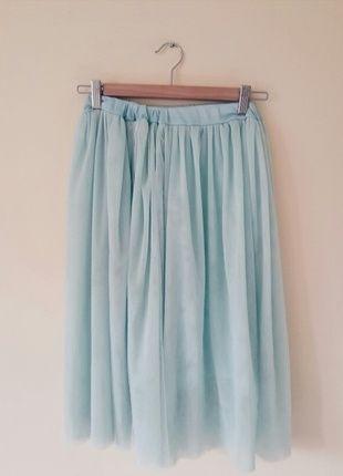 Kup mój przedmiot na #vintedpl http://www.vinted.pl/damska-odziez/spodnice/12198968-mietowa-spodnica-tiulowa