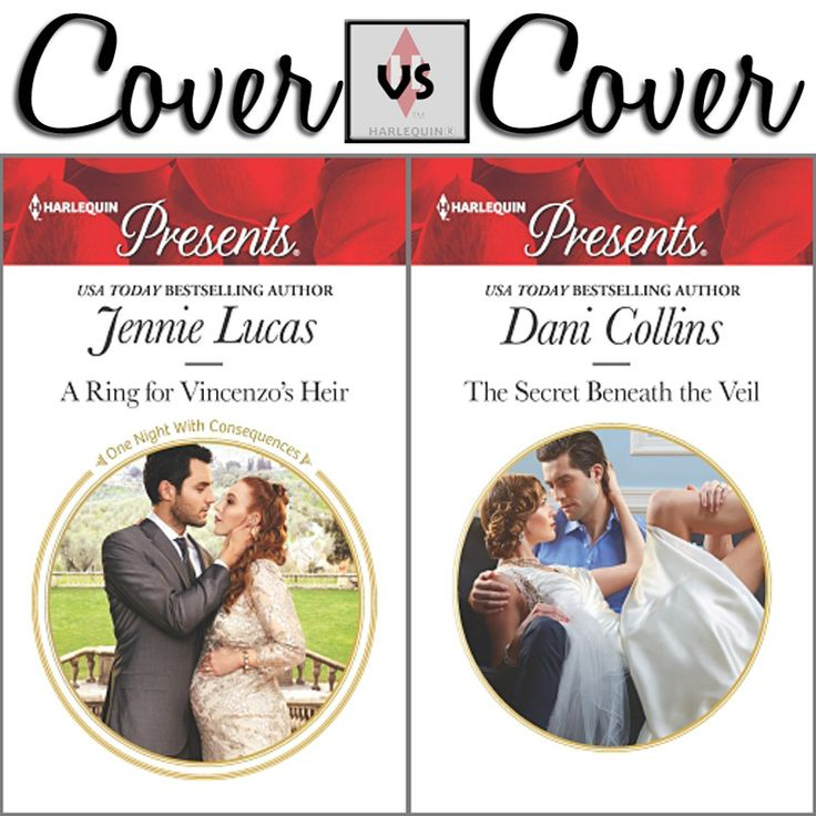Which is your favorite proposal cover? A RING FOR VINCENZO'S HEIR by Jennie Lucas  THE SECRET BENEATH THE VEIL by Dani Collins
