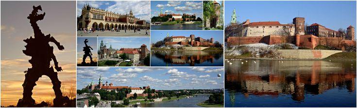 #collage #history #krakow #monuments #poland #tourism