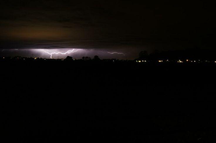 21.04.2014 - Blitzaufnahme @ Ried (OÖ) & Nachtgewitter @ Simbach am Inn (Grenze AUT/DE)