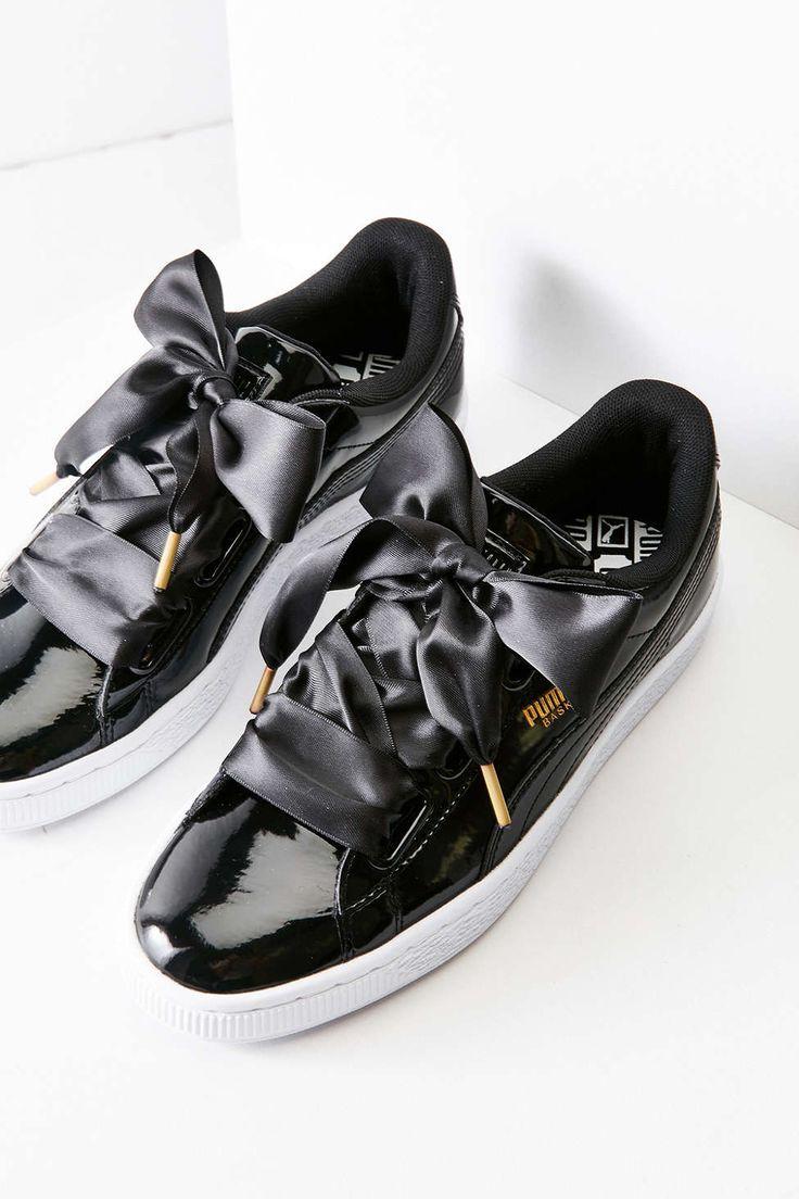 Tendance Chausseurs Femme 2017 Description Puma Basket Heart Patent Leather  Sneaker