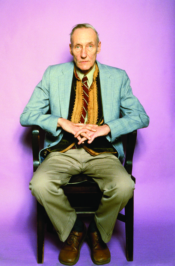 William Burroughs photographed at the Bunker on the Bowery in New York City in the summer of 1980. © Marcia Resnick / Retna Ltd.