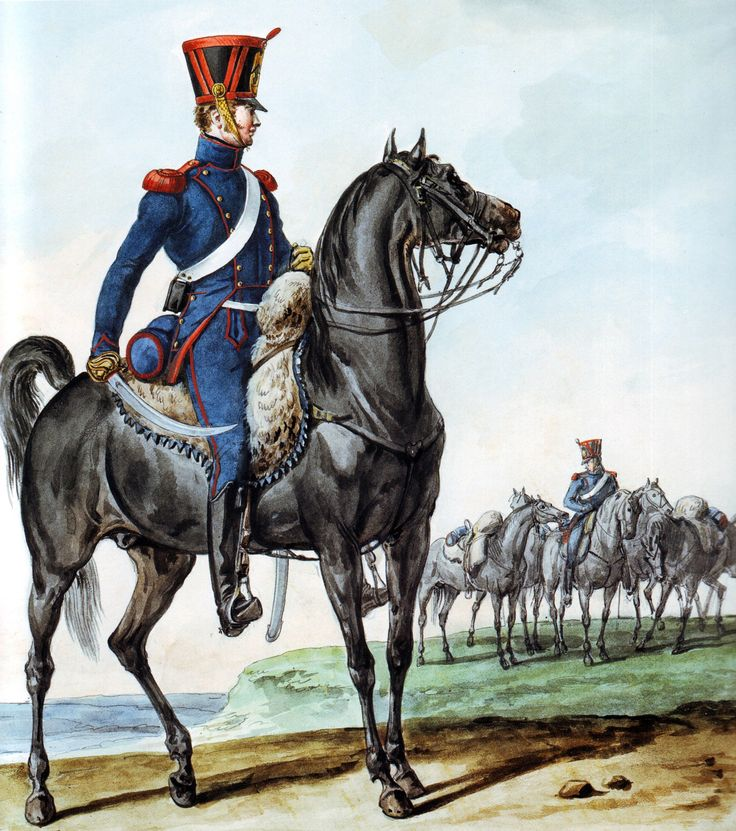 French Army 1812 Horse Artillery by Vernet