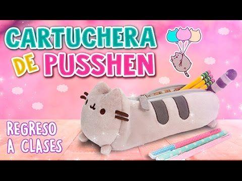 Hola! Hola! ♡ Bienvenidos a Fabbi Lee ~ Hoy les enseñaré a hacer una manualidad súper facil, que es una cartuchera super Kawaii del Gatito Pusshen que son pe...