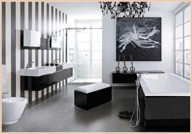 Cool info on Modern Black and White Bathroom Design