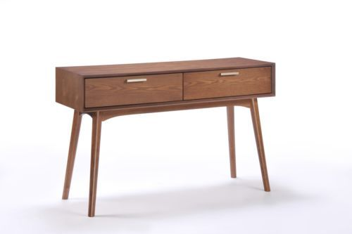 Mika-Console-Table-Solid-Hardwood-Cocoa-Finish-Ash-Veneer-2-Drawers-75x120x40cm