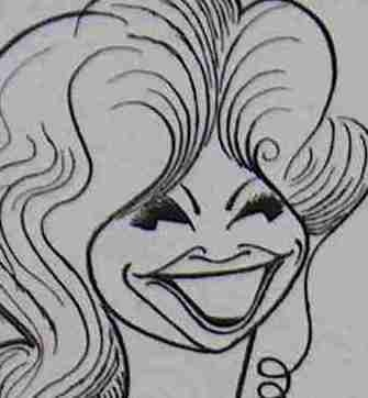 Beverly Sills caricature