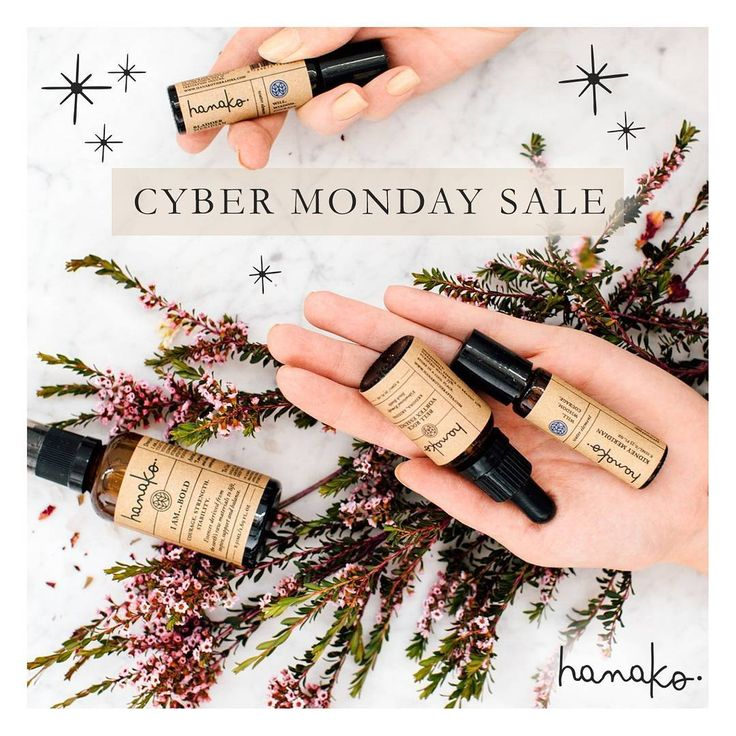 {cyber monday sale} .  we've extended our BLACK FRIDAY SALE over to CYBER MONDAY!  today only we have a FREE happy tracks with each order and 15% off storewide. Use the code CYBERMONDAY at checkout.  //www.hanakotherapies.com