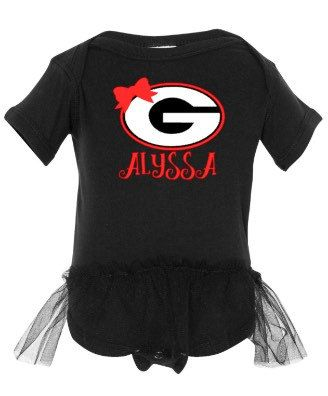 Georgia Onsie University of Georgia Shirt baby by RoughstockRags