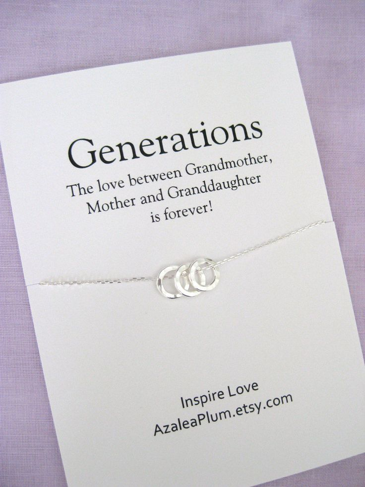 GRANDMA Necklace. Birthday Gifts for Grandma. Grandmother Mother Daughter Set. Sisters Necklace. Grandmother jewelry. Grandma Gift