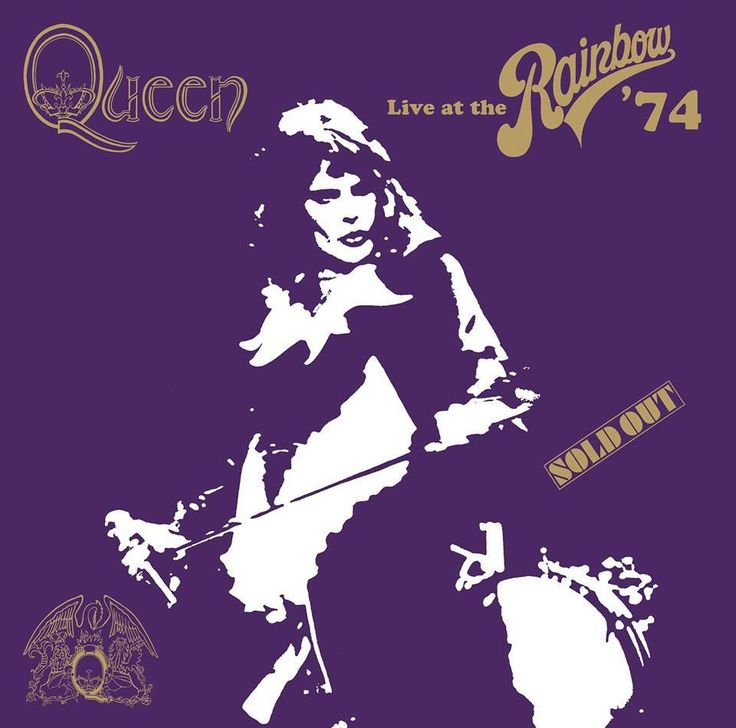 "Queen ""Live at the Rainbow '74"" #Freddie #Mercury #Queen #live #1974 #SoldOut"