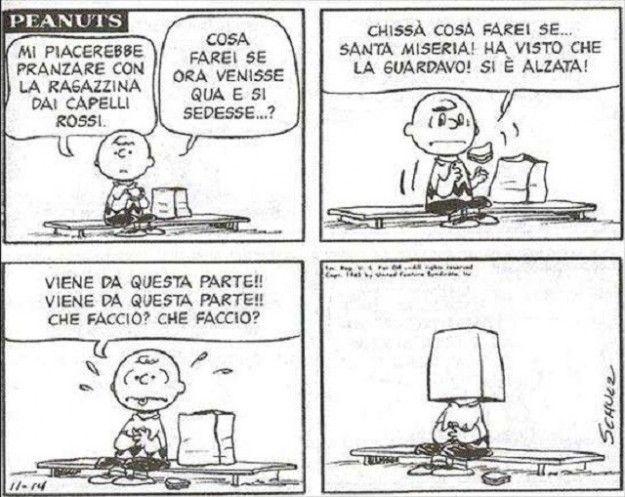 Linus e i capelli rossi