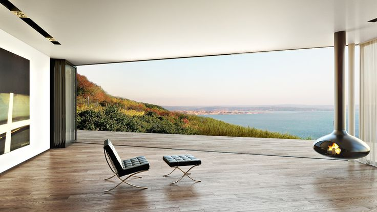 Open space with sea view