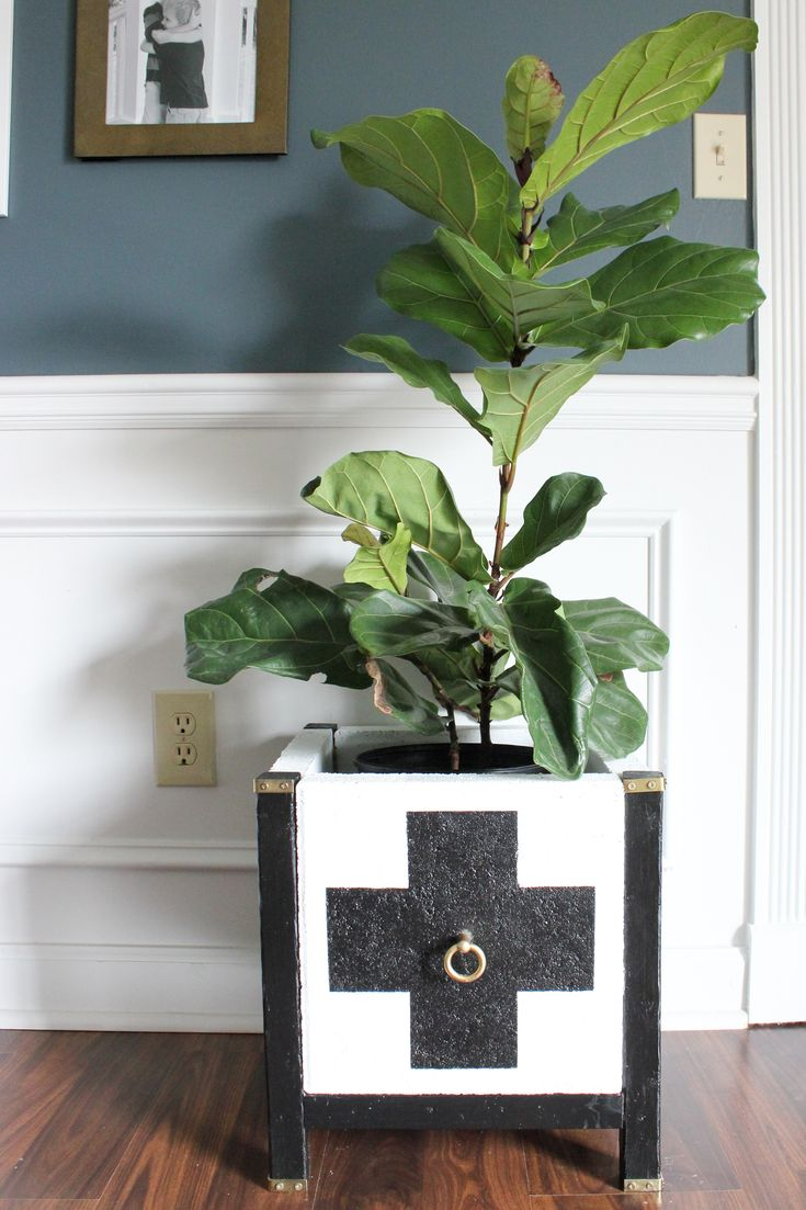 Build your own DIY Swiss Cross Paver Planter! It's easier than you might think.