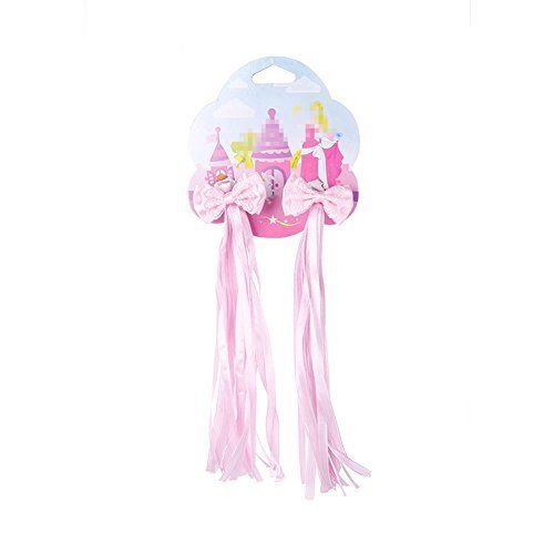 Bike Handlebar Streamers - Kid's Bicycle Scooter Trike Handgrip Pink Ribbons/Bicycle Grips Sparkle Tassel Ribbon /Baby Carrier Accessories http://coolbike.us/product/bike-handlebar-streamers-kids-bicycle-scooter-trike-handgrip-pink-ribbonsbicycle-grips-sparkle-tassel-ribbon-baby-carrier-accessories/