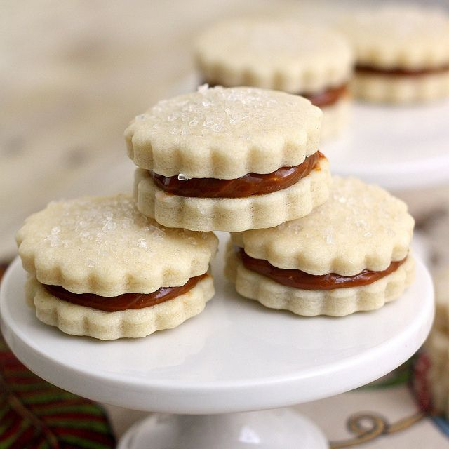 Dulce de Leche Sandwich Cookies (Alfajores) by Tracey's Culinary Adventures, via Flickr
