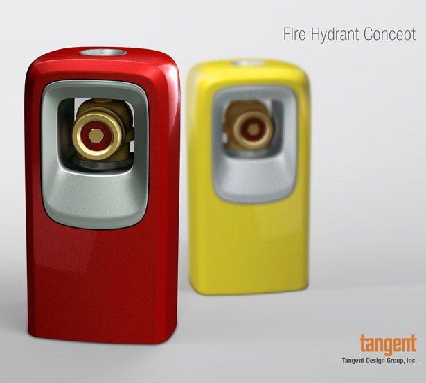 Fire Hydrant Concept : Creative Reinterpretation of Fire Hydrant by Tangent Design Group | Tuvie