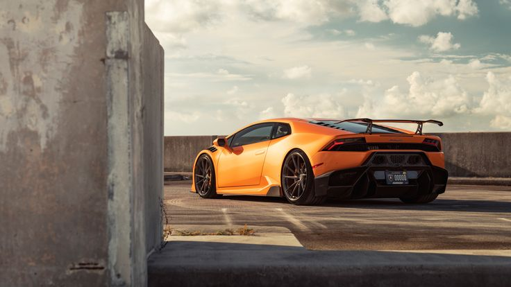 Latest Orange Lamborghini Huracan Rear 4k lamborghini wallpapers, lamborghini huracan wallpapers, hd-wallpapers, cars wallpapers, 8k wallpapers, 5k wallpapers, 4k-wallpapers