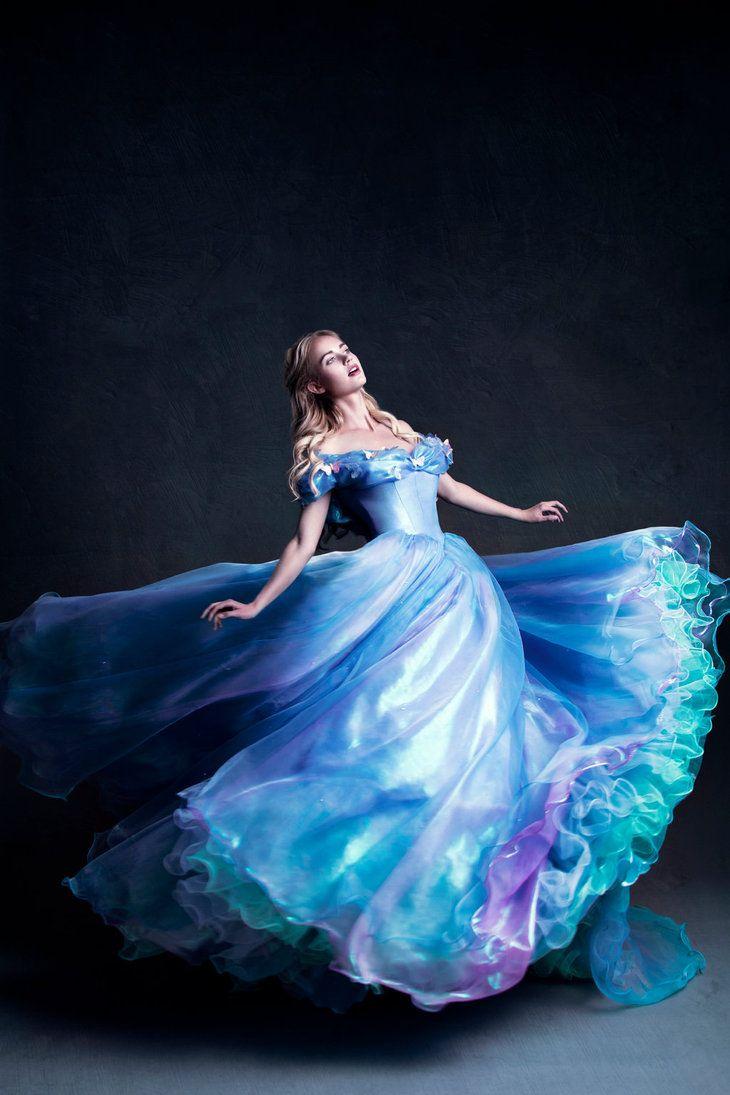 Cinderella's Transformation by michellemonique.deviantart.com on @DeviantArt