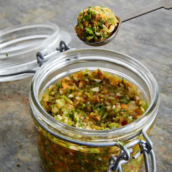 Gemüsesalz - Ein Rezept für Prep&Cook von KRUPS