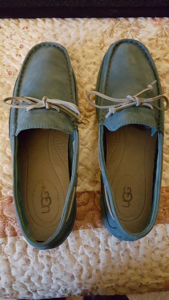 21d557d6282 UGG Men's Slippers Moccasins size 13W EUC blue leather #fashion ...