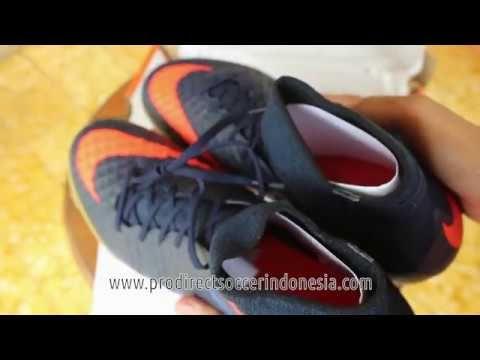 Sepatu Futsal Nike Hypervenomx proximo IC Obsidian Total Crimson 747486 ...