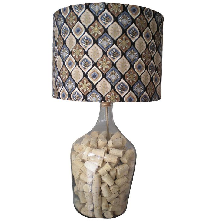 Carboy Cork Lamp | Oficina d'Artesã