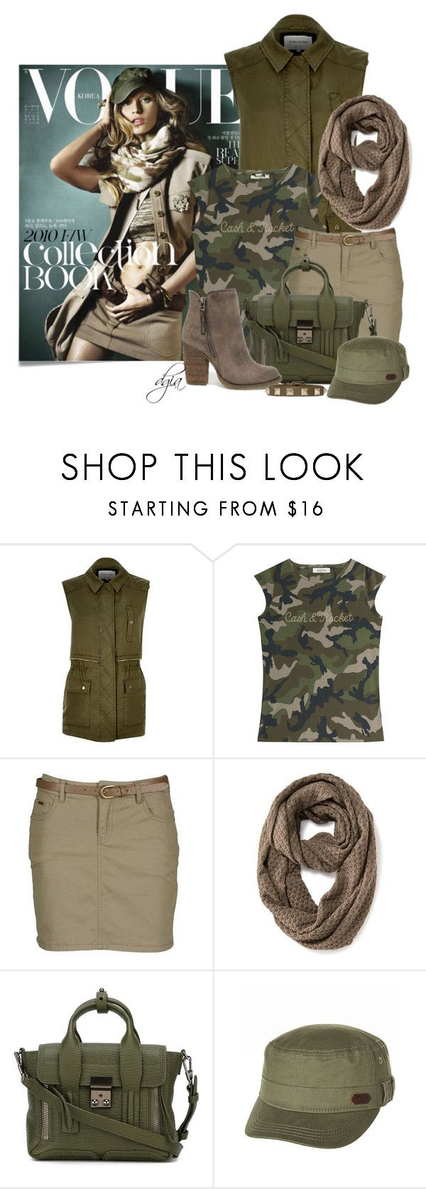 """Gisele Bündchen"" by dgia ❤ liked on Polyvore featuring Post-It, River Island, Valentino, Best Mountain, Old Navy, 3.1 Phillip Lim, Sbicca and Roxy"