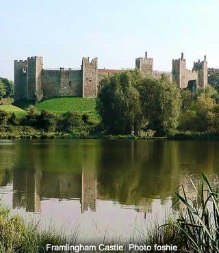 Framlingham Castle, Suffolk, UK
