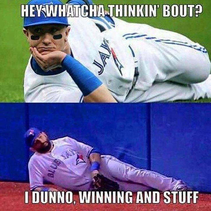 Sports fans everywhere can also share memes like this through social media.