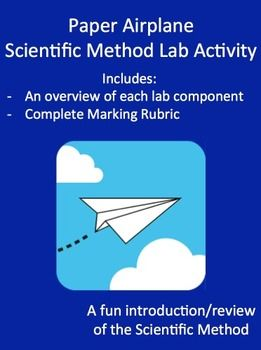 Introduce or review the Scientific Method in a fun way with this simple activity. Your students will create various planes in order to test a single variable effect on flying distance. Great for inquiry, collaboration and developing research skills. Fully editable Word document which can be altered to fit your students needs. It can be as complicated or simple as you like and works great for students with learning difficulties.