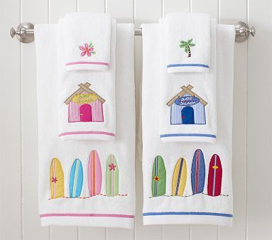 The collection we did the kids bathroom in. A great theme for boys and girls!