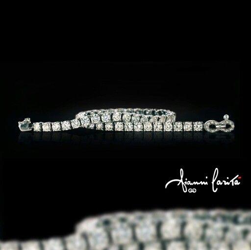 l leggendario bracciale tennis è un classico intramontabile nel mondo del gioiello. #gioielli #giannicarita #madeinitaly #gold #tennis #bracciale #diamond #diamanti #jewelry #Jewellery #preziosa #precious #luxury #luxurybrand #gioielli #gioielleria