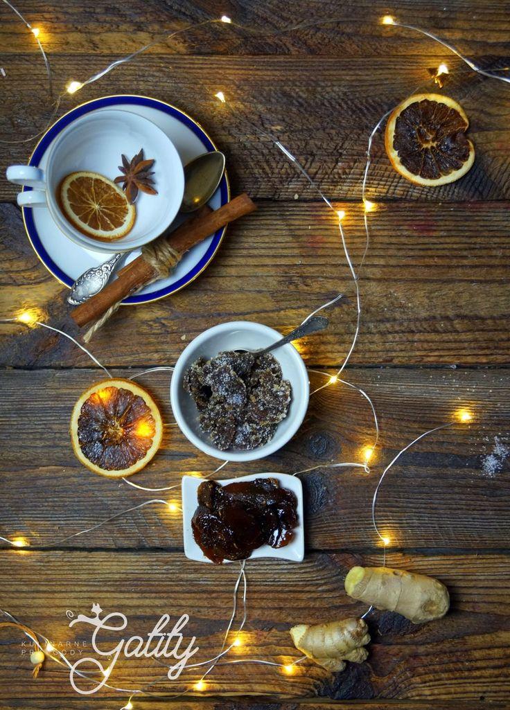 Kulinarne przygody Gatity - przepisy pełne smaku: Kandyzowany imbir