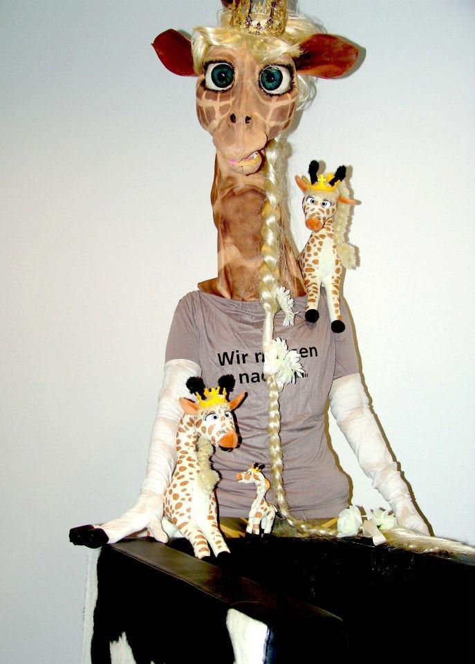 Müller Marketing Kostüm Giraffe
