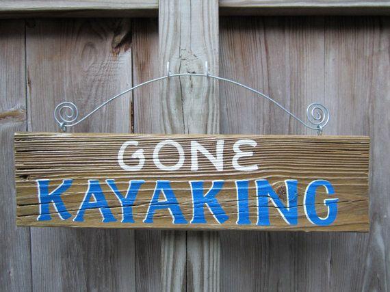 SPECIAL LISTING for MMB Gone Canoeing Gone por ainsworthart en Etsy