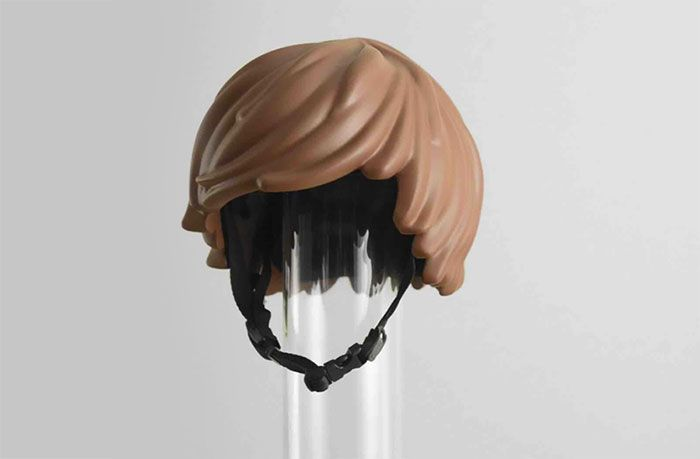 There's a Helmet Inspired by Lego and Playmobil Dolls and It's all we ever wanted!