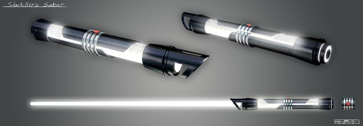 Two lightsabers were created to serve as the weapons of Starkiller, a clone of the Sith Lord Darth Vader's secret apprentice. The lightsabers were given to the clone by the Dark Lord during his training on the planet Kamino, and were used during his escape attempt immediately after Vader deemed Starkiller to be another failure in a long line of imperfect clones. Starkiller's dual weapons were constructed for the purpose of training Galen Marek's clone in lightsaber combat. They were part…