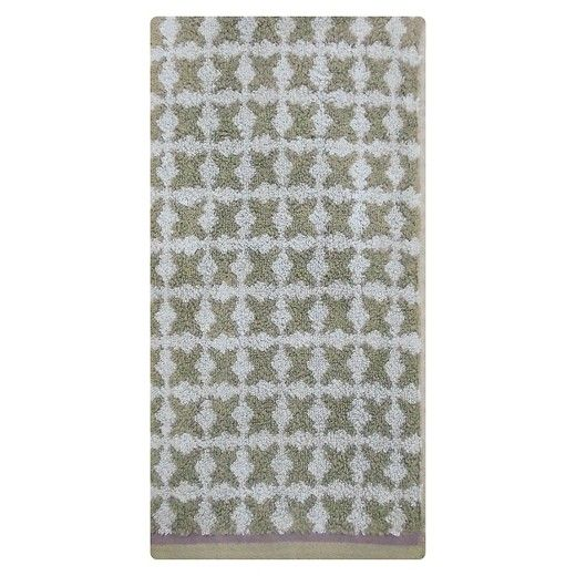 Hand Towel Tile Grey & Purple - Threshold™ : Target