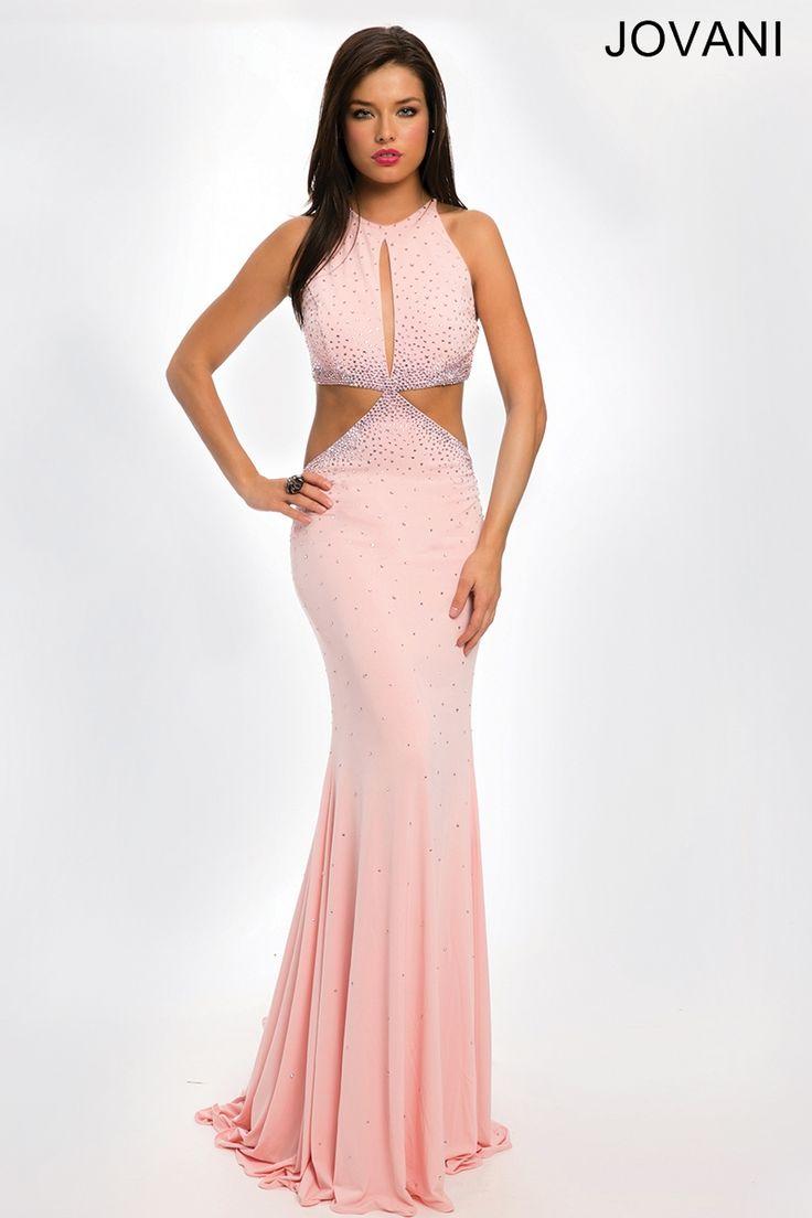 22 best Sleek Light Pink images on Pinterest | Jovani dresses, Pink ...