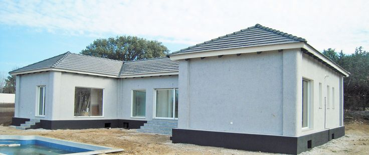 Casa prefabricada de hormigon de estilo moderno tu elijes - Casas prefabricadas hormigon ...