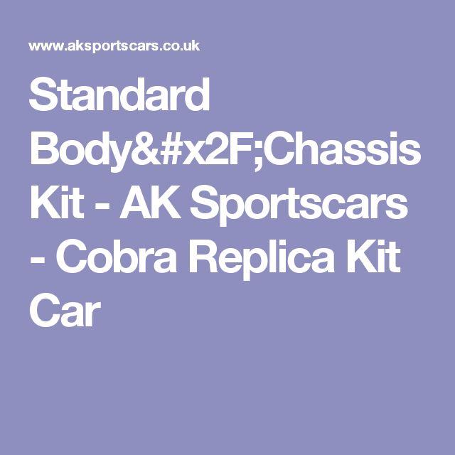 Standard Body/Chassis Kit - AK Sportscars - Cobra Replica Kit Car