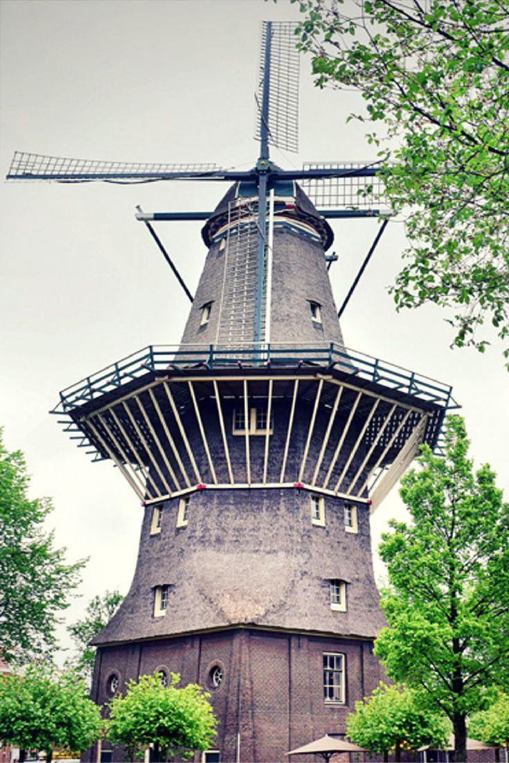 Amsterdam De Gooyer Windmill
