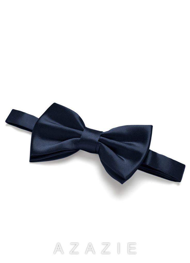 Azazie Charmeuse Bow Tie Groomsmen Accessory | Azazie
