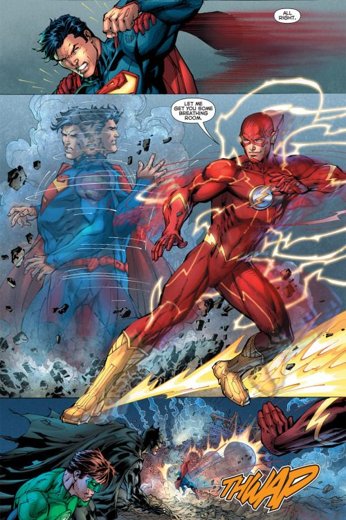 Can flash take superman punches?? - Battles - Comic Vine