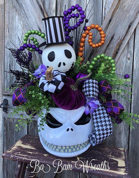 Halloween Centerpiece, Halloween Decor, Fall Centerpiece, Fall Decor - halloween centerpiece
