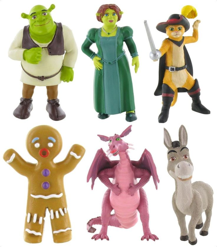 Bullyland Comansi Official Shrek Toy Figure Cake Topper Toppers  | eBay