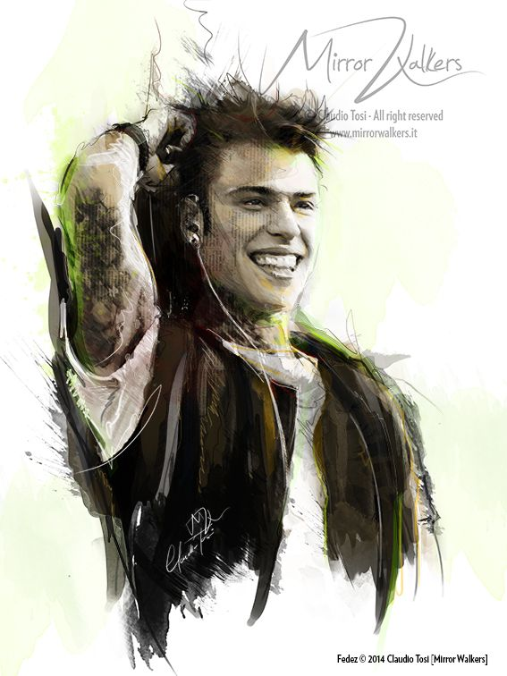 Fedez ©2014 Digital Drawings & Painting