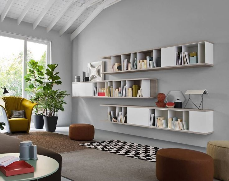 Mit Dem Novamobili Reverse Bücherregal Setzten Sie Ihre Hochwertigen Und  Meist Geliebten Bücher Gekonnt In Szene