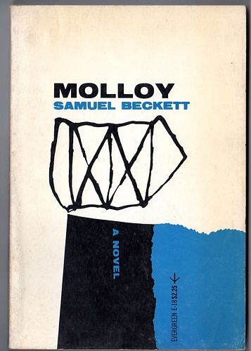 Molloy by Samuel Beckett. Grove Press, 1955. Cover design and illustration by Roy Kuhlman. www.roykuhlman.com